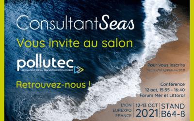 ConsultantSeas au Forum Mer et Littoral du Salon Pollutec 2021 à Lyon